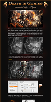 Death is coming tutorijal  by MARKCAPE
