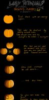 Lazy Tutorial: Pumpkins by x-Memoire-x