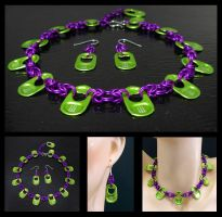 Green Monster Choker MultiView by MajorTommy