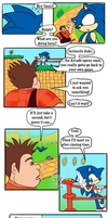 Wreck it Ralph + Sonic- What is a Hero? by Feniiku
