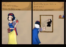 Disney proverbs: snowwhite by Samantai