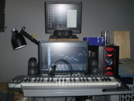 The studio setup by RionNipal