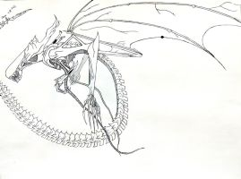 Winged Xenomorph by carnifex125