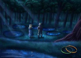 The wood between the worlds by Irete