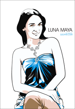Luna Maya Vector by ndop