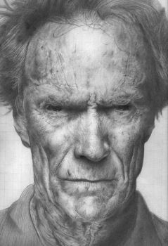 Clint Eastwood by Remenance