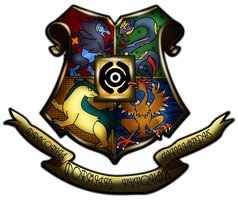 Hogwarts Shield Crest by GB-of-BS
