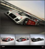 Audi R15C TDI Concept 2010 by ev-one