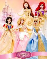 disney dolls collection by burikatdollz