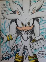 Silver Hedgehog by emichaca
