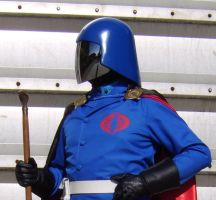 Cobra Commander with cape 2 by FraterSINISTER