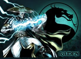 raiden color pin up by BrunoCotic