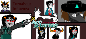 Terezi Pyrope:Ace Attorney-Turnabout Influenza by Nfreak974