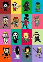 Movie Characters roll call... by chetmeister