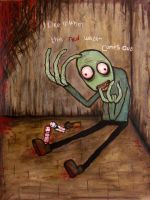 Salad Fingers by OddandOddesss
