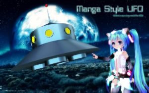 MMD Manga Style UFO by Trackdancer