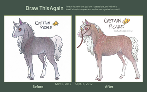 Draw This Again: Picard by Dragonheart-Stables