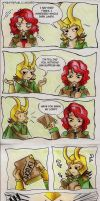 New Republic Asgard Loki x Lena 2 by Urani