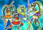 TMNT Precure by CandySkitty