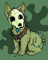 cute little skulldog by not-fun