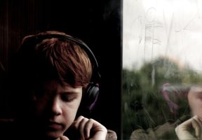 Sad ginger boy by BetuSKA666
