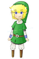 Chibi SS Link [ANIMATED!] by IgnisArdor