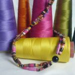 recycled necklace by strictlyhandmade