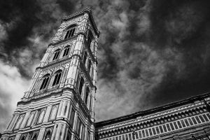 Campanile di Giotto BnW by error-23