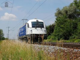 183 717 trial run near Gyor, Hungary. by morpheus880223