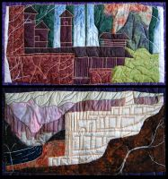Middle Earth Tapestry by Verdego