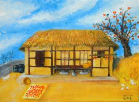 The thatched house by Tae-yun