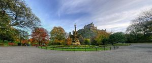 Ross Fountain by wreck-photography