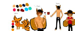 My character ref by Bespattered94