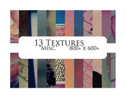 13 textures: misc. by sabinefischer