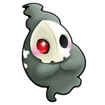 Duskull by Clinkorz
