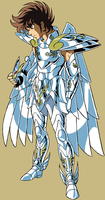 Pegasus God cloth 02 by FaGian