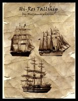 Hi-Res Tallship Brushset by Metamorphium