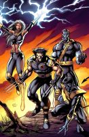 Ultimate X-men by JPR04