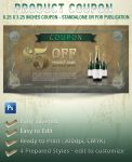 Free Product Coupon Template 01 by Godserv