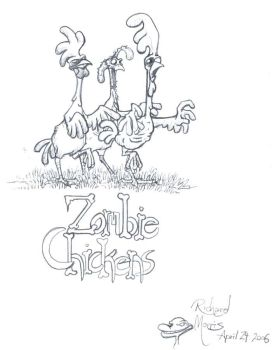 ZOMBIE CHICKENS by Gorpo