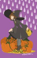 Pumpkin Witch by MonkeyMonk14