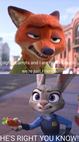 Nick And Judy Annoyed. by catdragon4