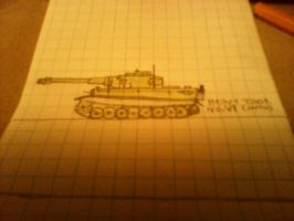 japanese heavy tank no. vi by thesketchydude13