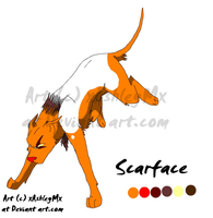 Scarface reference sheet OLD by xAshleyMx