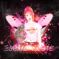 Blend gif / Escape Route / Hayley Willams by PamHoran