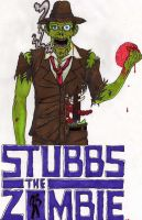 Stubbs the zombie. by Zombean1138