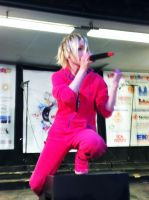 YOHIO in hotpink One-piece outfit by Babydoll-chan