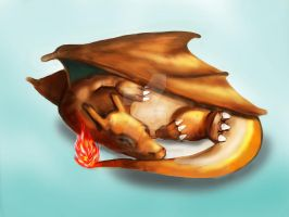 slp charizard by momoslittlespace