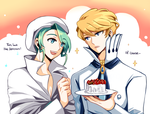 Wallace and Siebold by SSseohyeon