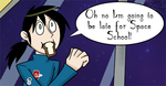This webcomic has nothing to do with school by The-Clockwork-Crow